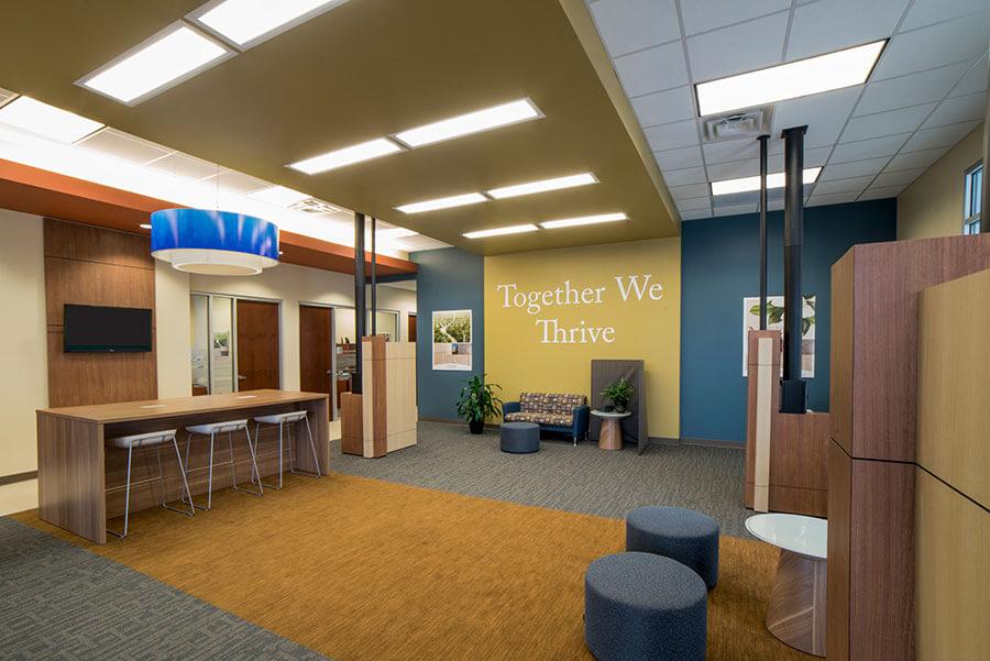 La Captiol bank lobby